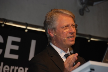 Astronaut Thomas Reiter, Schirmherr Aerospace Lab