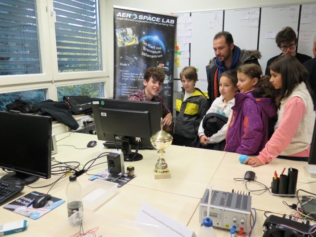 Tag der offenen Tür 8 Aerospace Lab