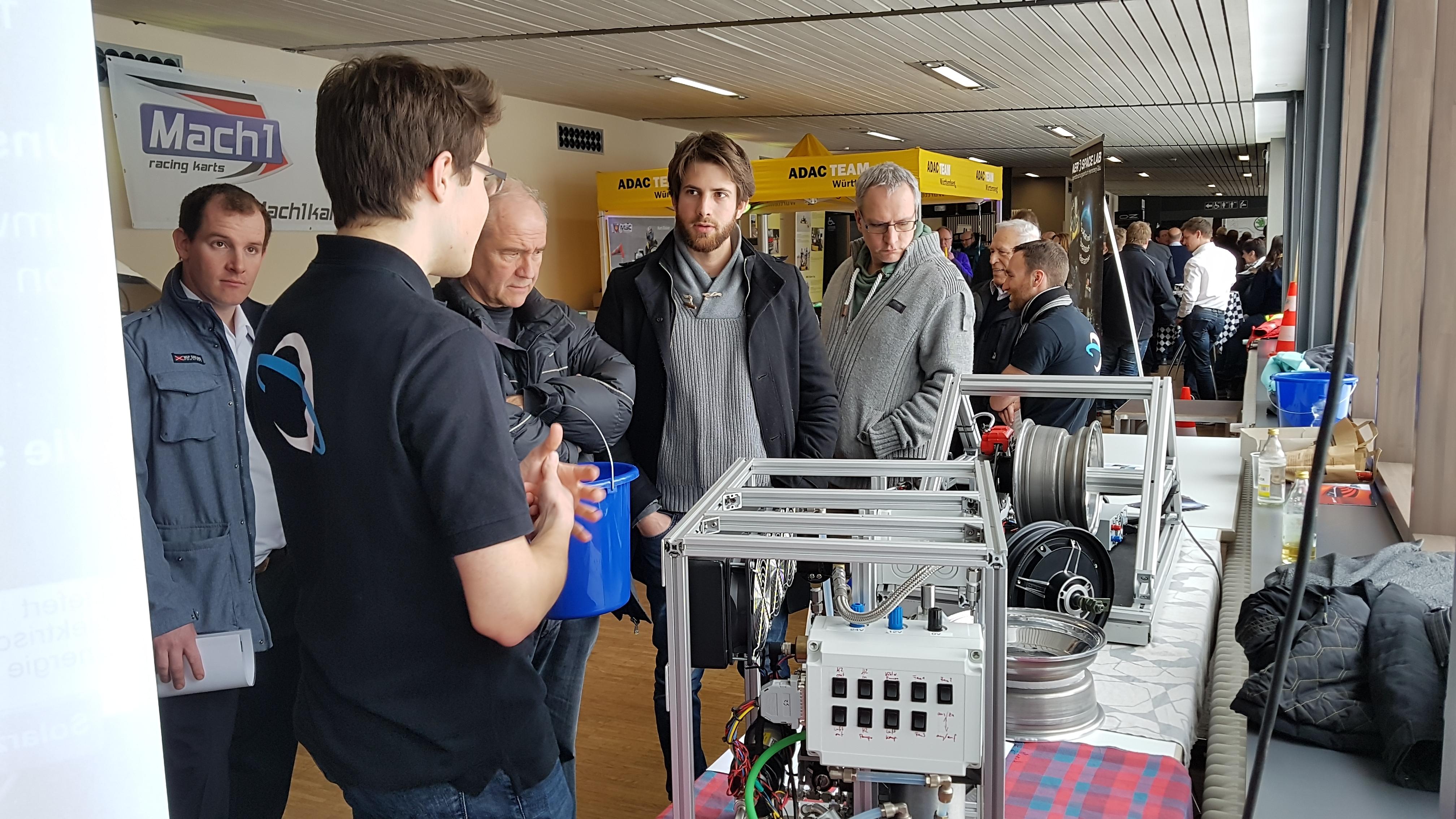 Gokart-Projekt auf den Herrenberger Autotagen