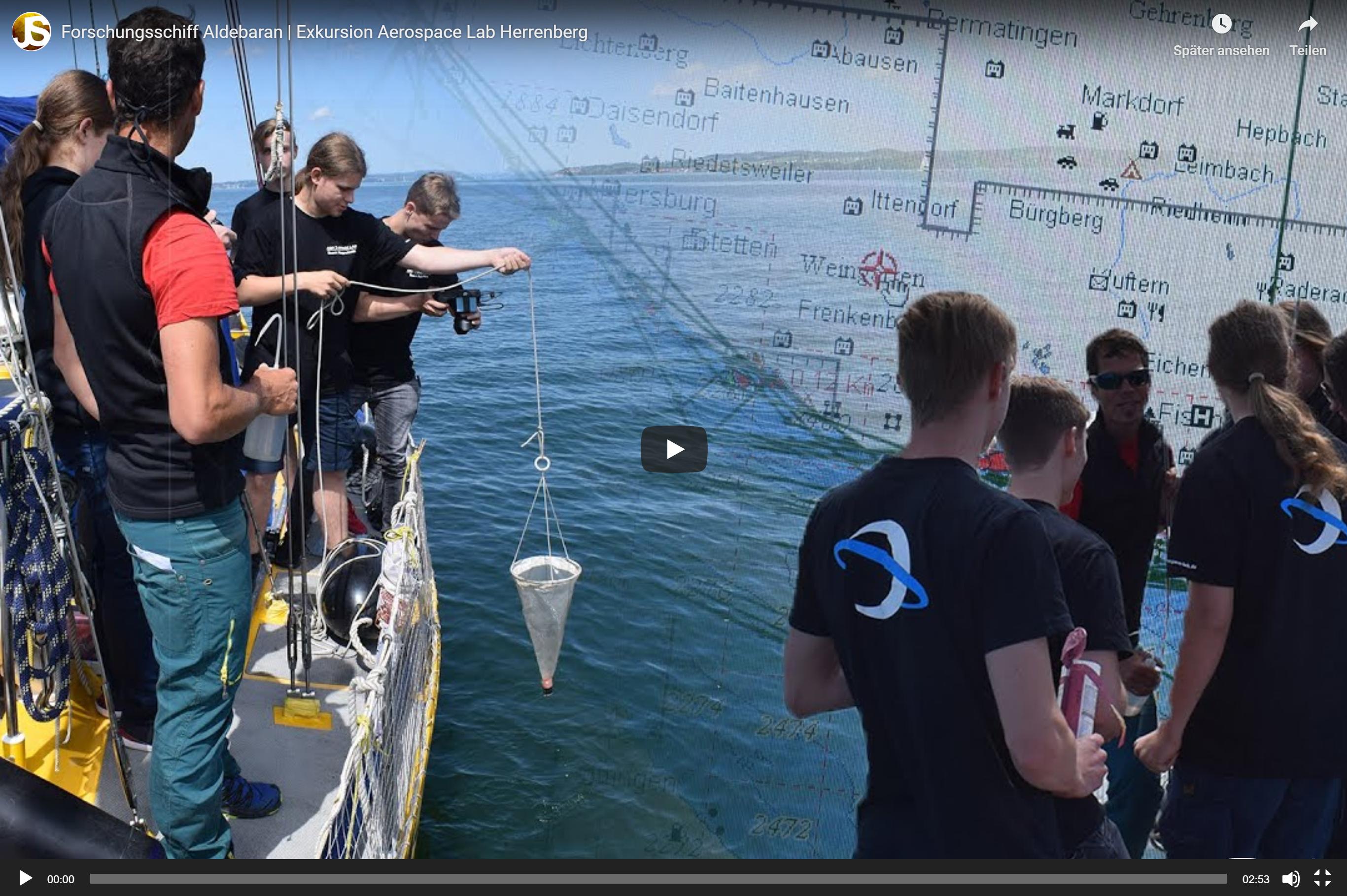 Thumbnail-Exkursion Forschungsschiff Aldebaran – AEROSPACE LAB